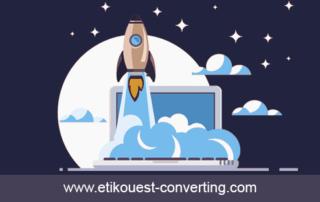 Lancement du site d'Etik Ouest Converting, fabrication d'étiquettes techniques et RFID