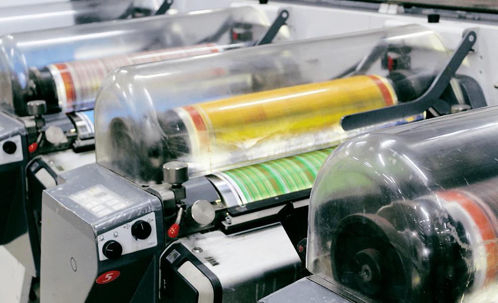 machine d'impression d'étiquettes techniques