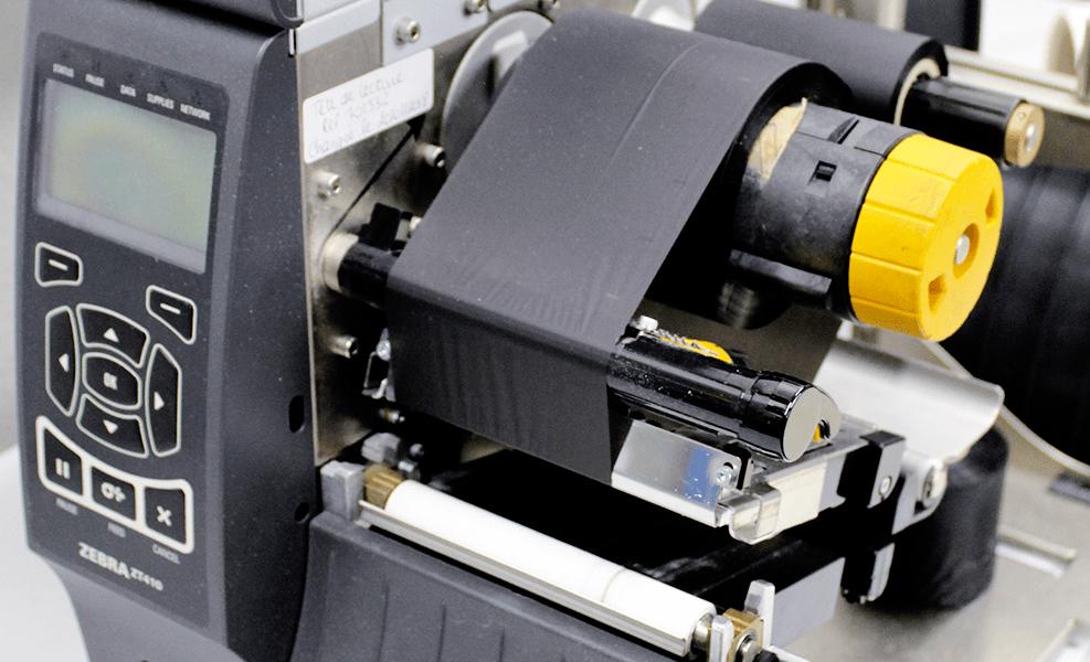 encodage UHF sur machine de transformation ou sur imprimante à transfert thermique