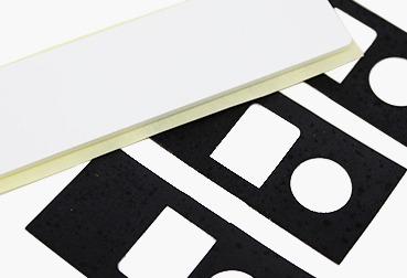 Etik Ouest Converting, conception et fabrication d'étiquettes techniques et RFID, étiquettes et pièces souples, étiquette en mousse, étiquette en caoutchouc