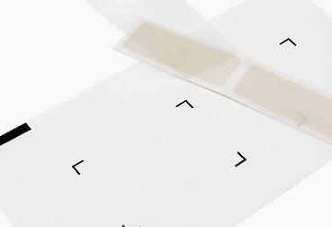 Etik Ouest Converting, conception et fabrication d'étiquettes techniques et RFID, étiquettes et pièces souples, étiquette pastille adhésive