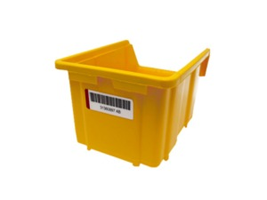 tik Ouest Converting, conception et fabrication d'étiquettes techniques et RFID, tags et étiquettes RFID, étiquette logistique, étiquette pour bac en plastique, gamme PC