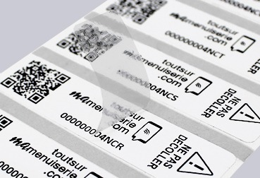Etik Ouest Converting, technical labels for industry and RFID tags', protection labels, paint