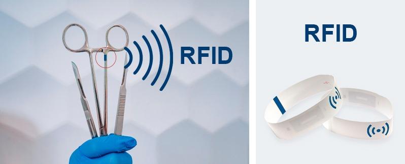 RFID matériel chirurgical, RFIF materiel medical, Etik Ouest Converting