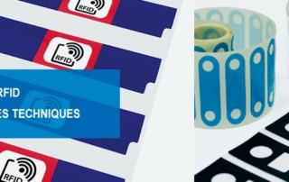 étiquette RFID, Tag RFID, étiquettes techniqe, Etik ouest converting