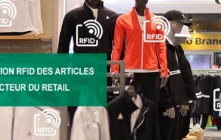 Identification RFID articles secteur retail, etik ouest converting